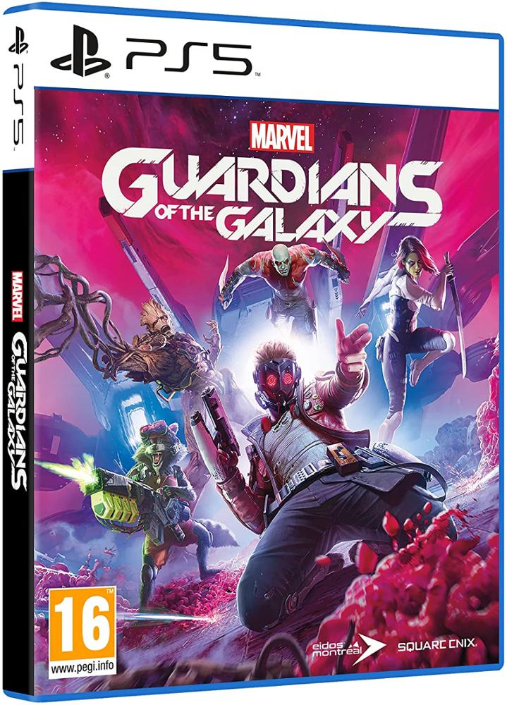 PS5 Juego Marvel Guardians of the Galaxy