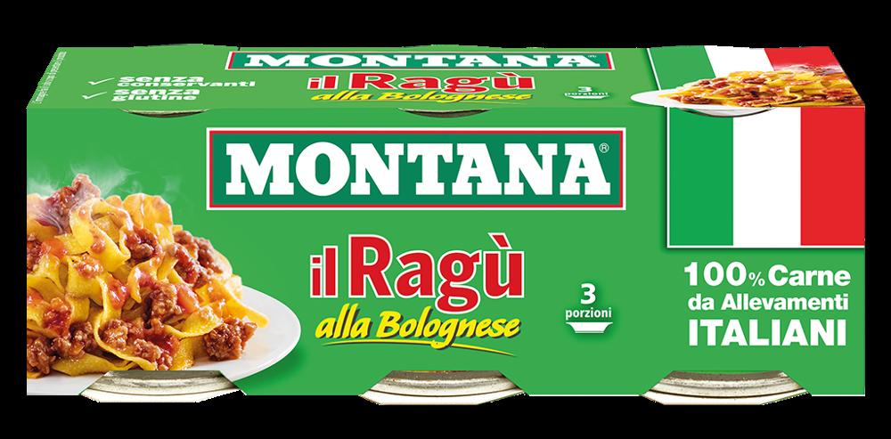 Ragu alla bolognese 100x2 gr