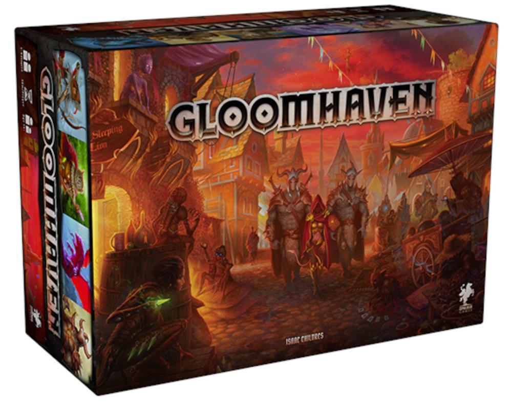 Portada Gloomhaven