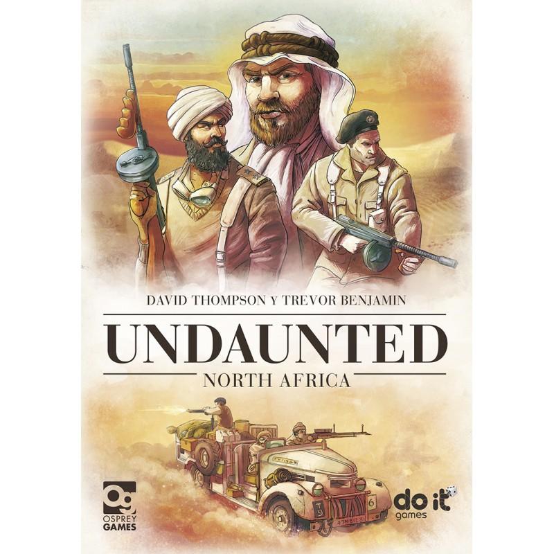 Portada Undaunted North África