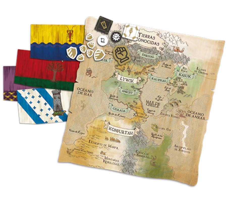 Detalle Componentes El Dilema del Rey