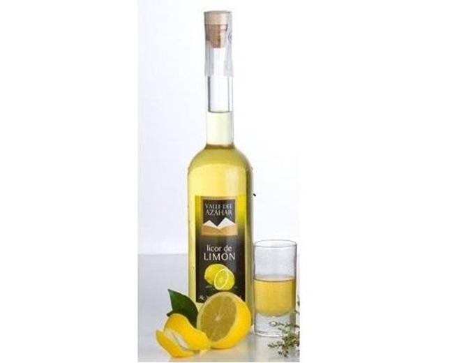"""Licor Limón """"Valle del Azahar"""""""