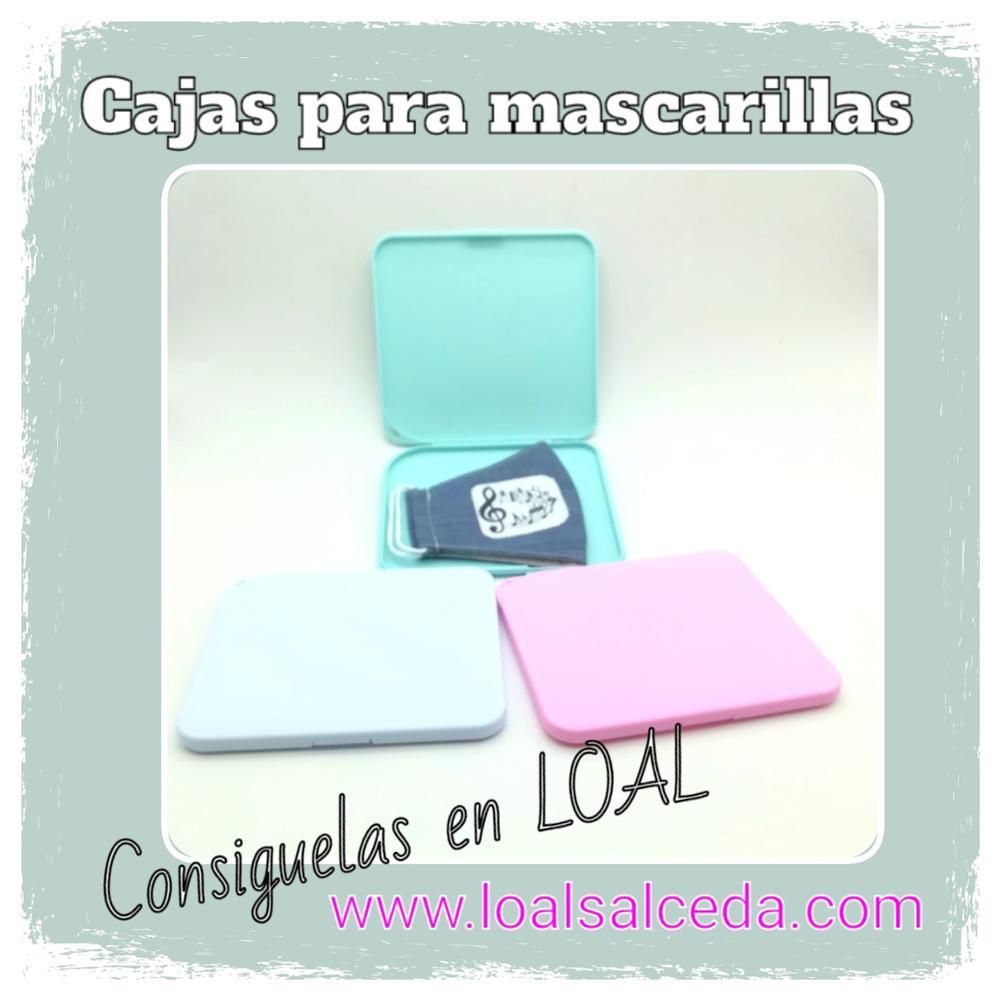 Caja guardar mascarilla, caja mascarilla, cajas para mascarillas