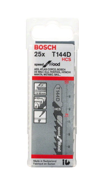 Bosch Kit Hojas Sierra Calar