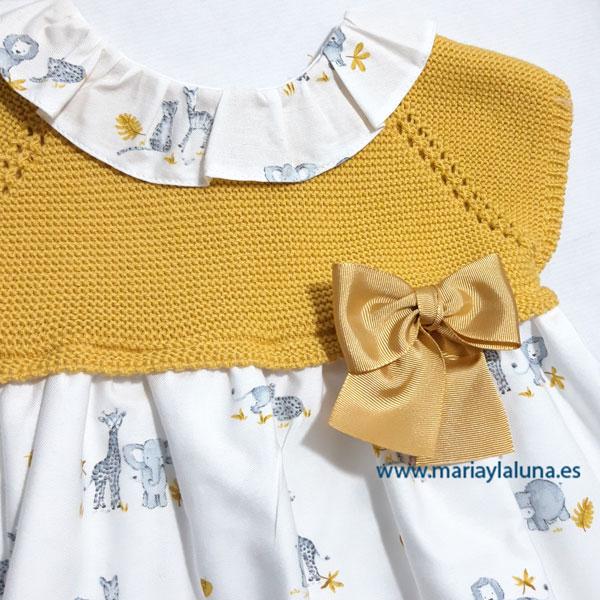 Vestido mostaza2