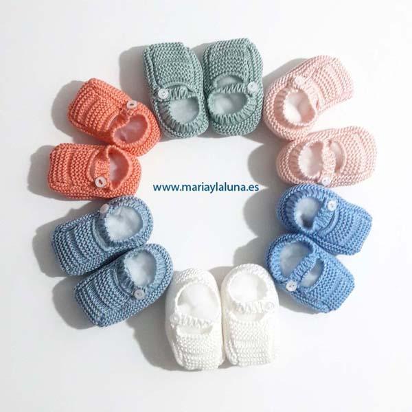 Bebé Sandalia de Punto Pangasa Varios Colores