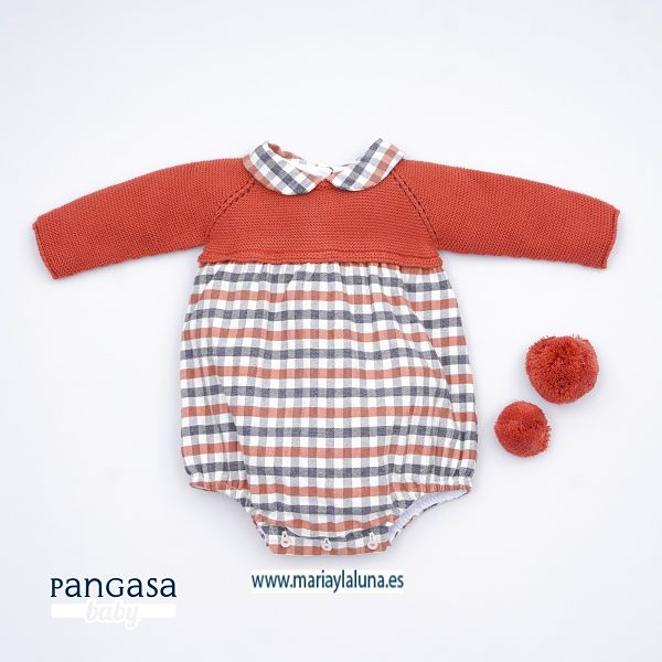 Bebé Pelele Pangasa Brandy 3, 6 y 9 meses