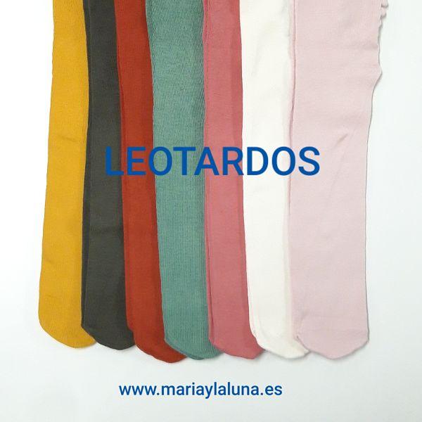 Bebé Leotardos Algodón Orgánico Varios Colores