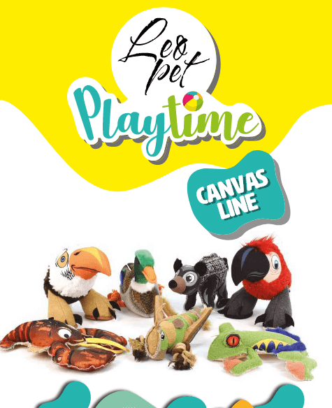 Leopet Playtime Canvas Line