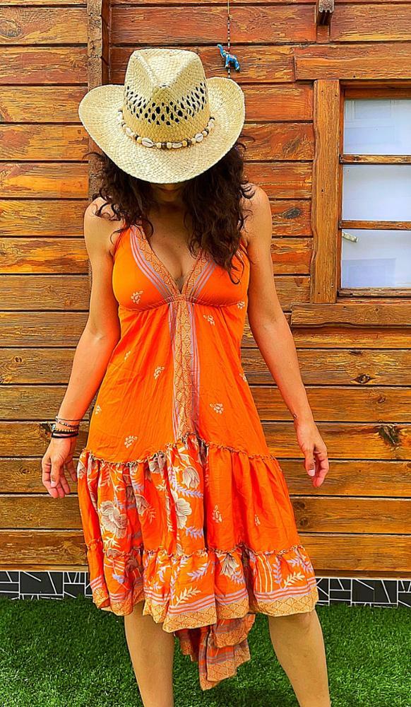 Vestido Ave de paraíso