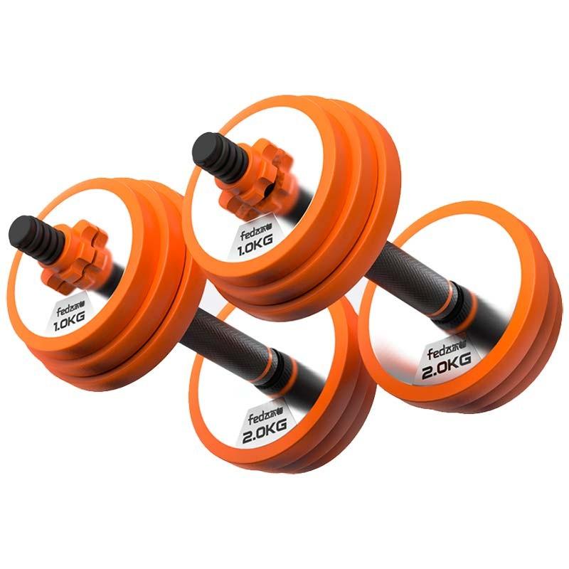 XIAOMI Kit de Musculación Mancuernas + Barra Xiaomi FED 10kg