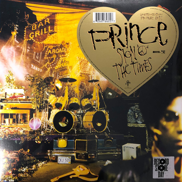 """Warner Music PICTURE DISC Prince Sign """"O"""" The Times 2LP"""