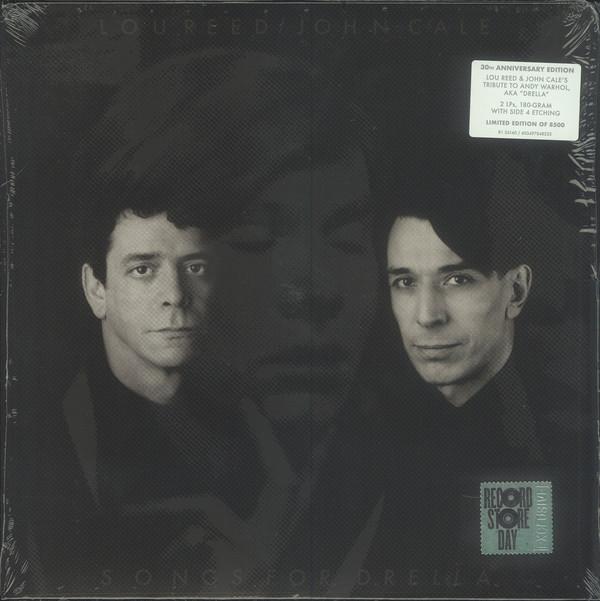 """Warner Music LP Lou Reed / John Cale """"Songs For Drella"""" 2LP"""