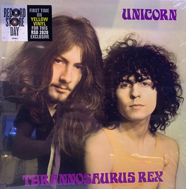 "Universal Music LP Tyrannosaurus Rex ""Unicorn"" Vinilo amarillo RSD 2020"