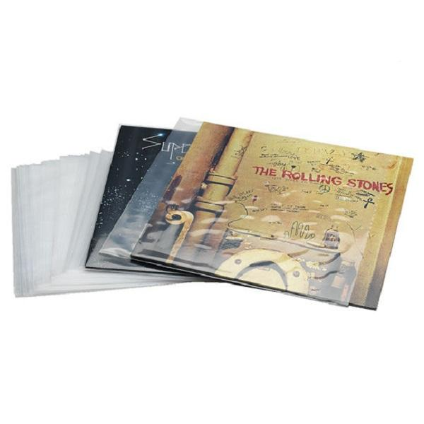 Pack 50 Fundas para LPs y Maxis galga 600