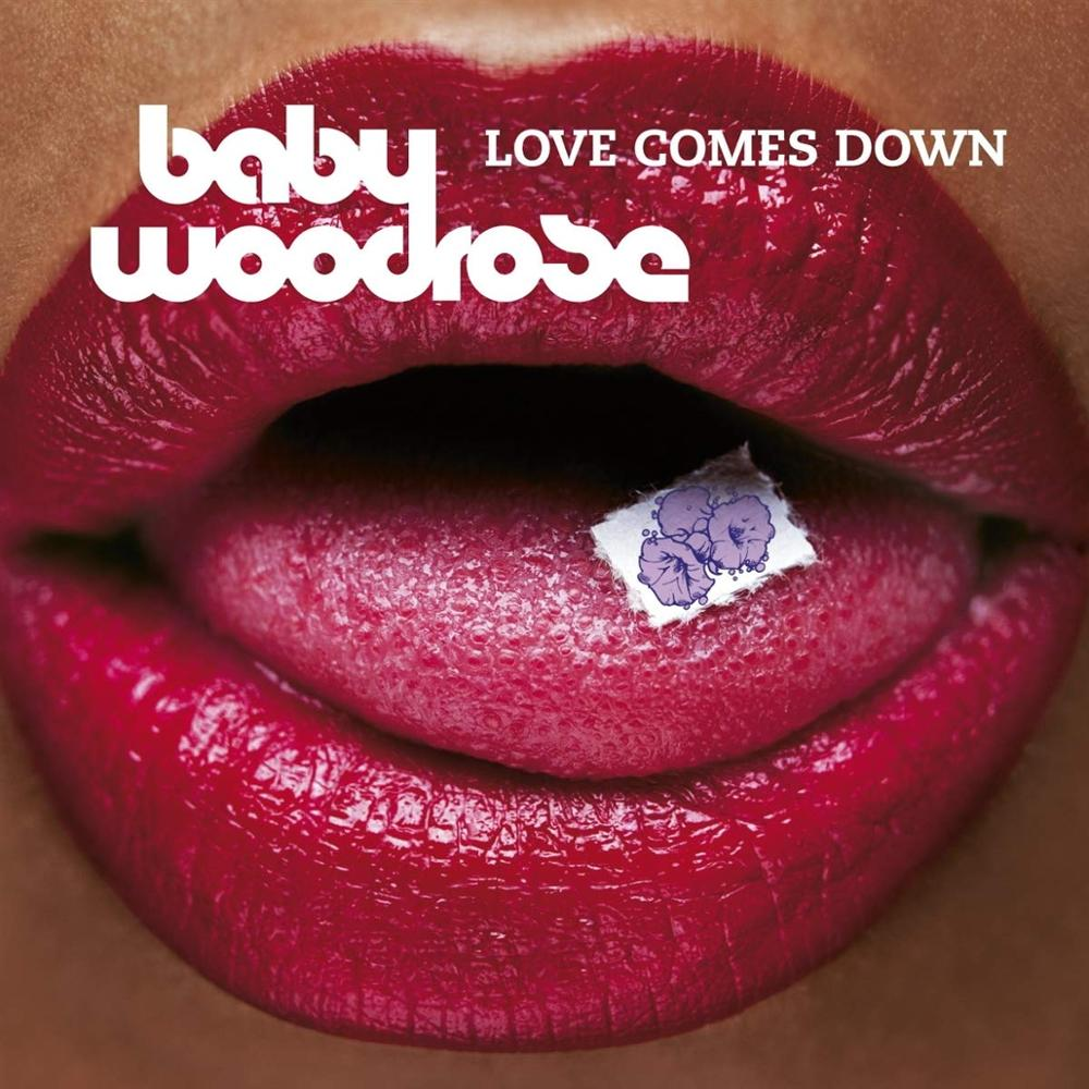 """Bad Afro Records LP Baby Woodrose """"Love comes down"""" Vinilo de color"""
