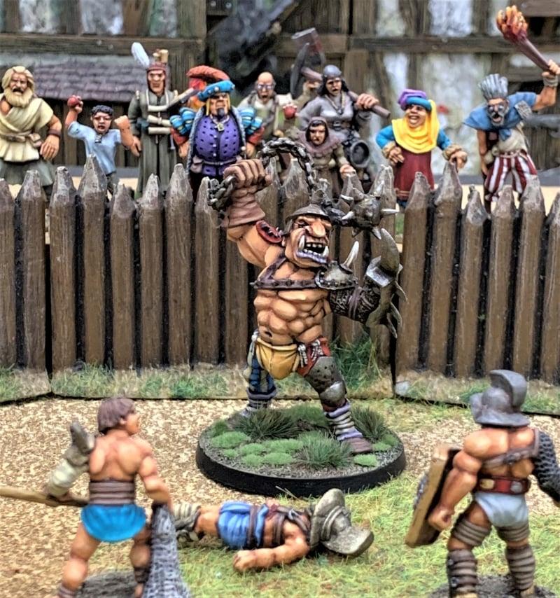 Renegade Ogre Pit Fighter