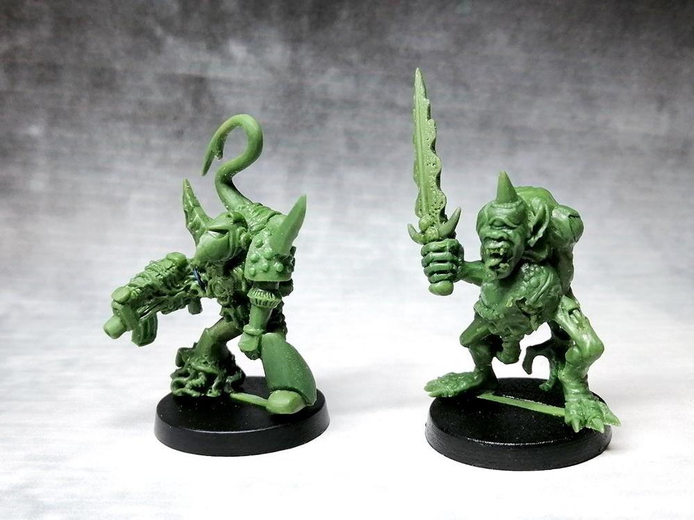 Rotten chaos raider Lord and Demonic cyclops