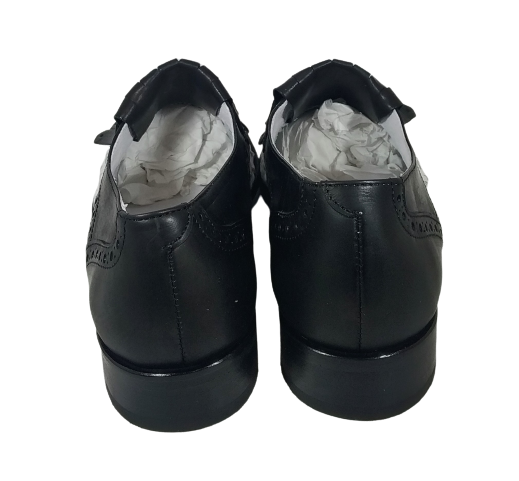 VITELO Zapato blanco y negro piel