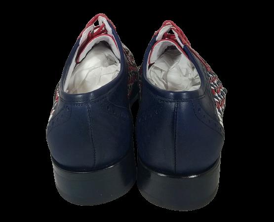 VITELO Zapato piel trenzada