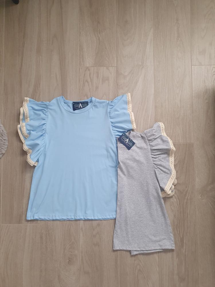 Camiseta volantes
