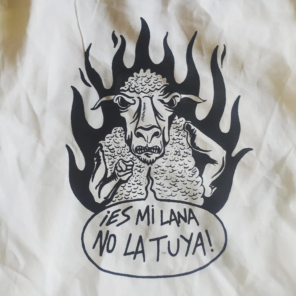 Es mi lana, no la tuya. Diseño de P. Taladro.