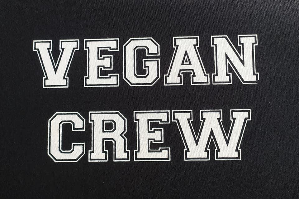 Vegan crew.