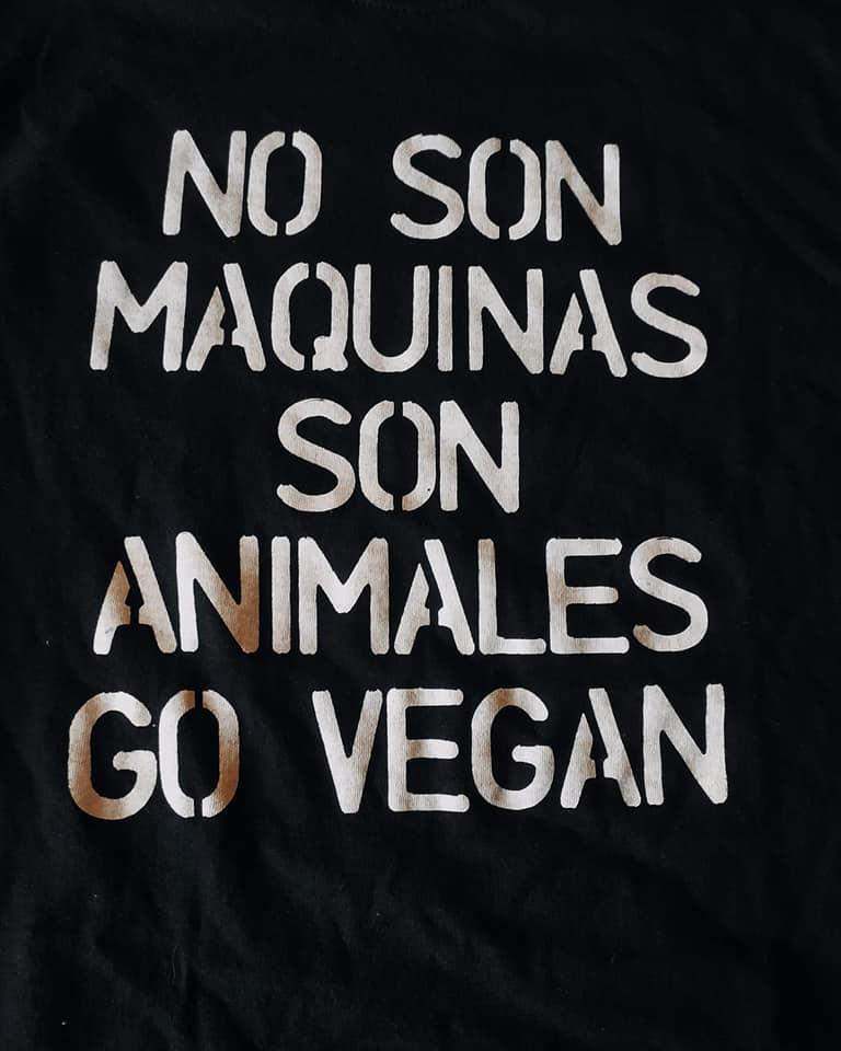 No son máquinas, son animales.