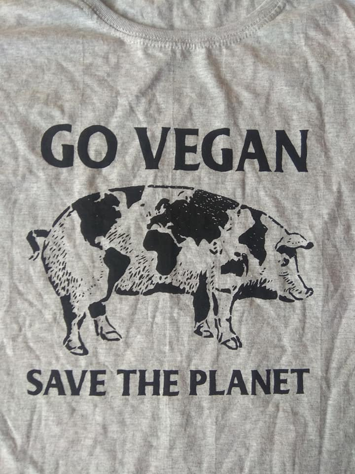 Go vegan, save the planet.