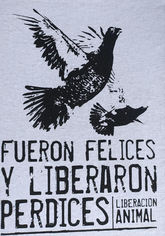 Liberaron perdices.