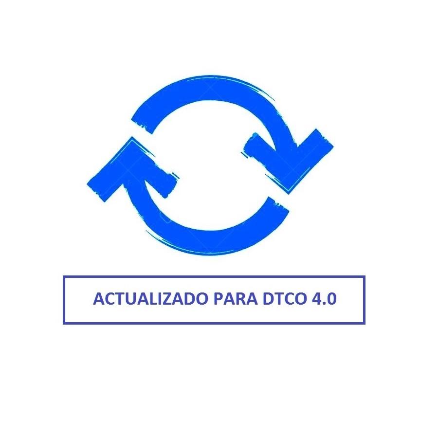 Tacho2Safe Actualización para tacógrafo inteligente DTCO 4.0