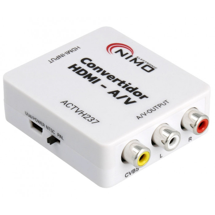Nimo Conversor HDMI a RCA AV