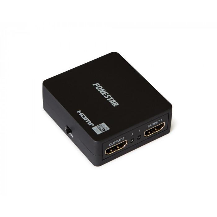 Fonestar Distribuidor HDMI 1 x 2 (1 entrada x 2 salidas)
