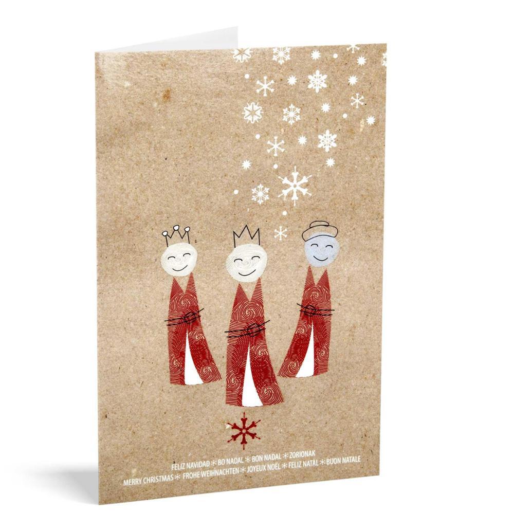 Pack 10 christmas UNICEF - Kraft