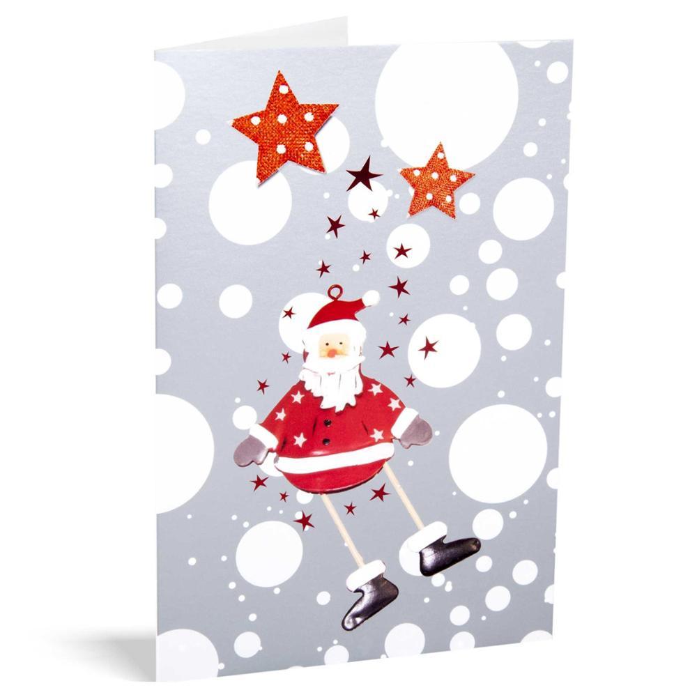 Pack 10 christmas UNICEF - Santa Scenes