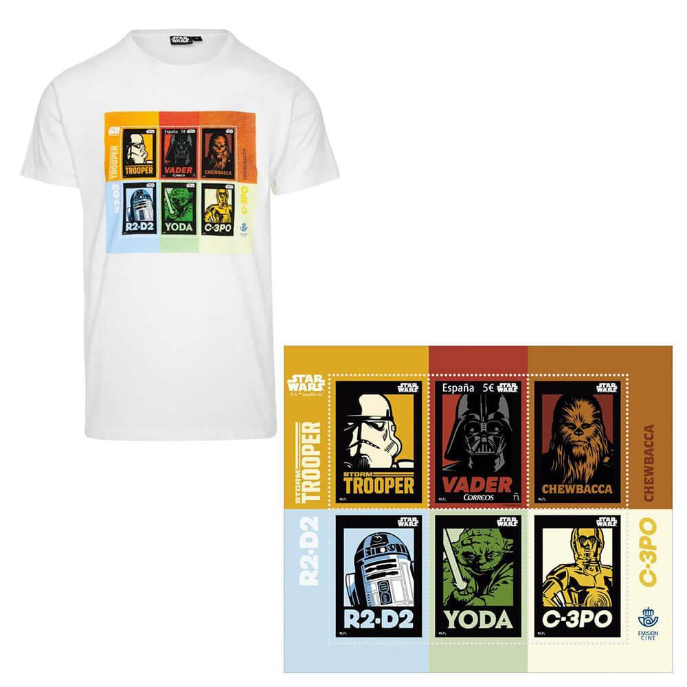 Camiseta Star Wars + Sello