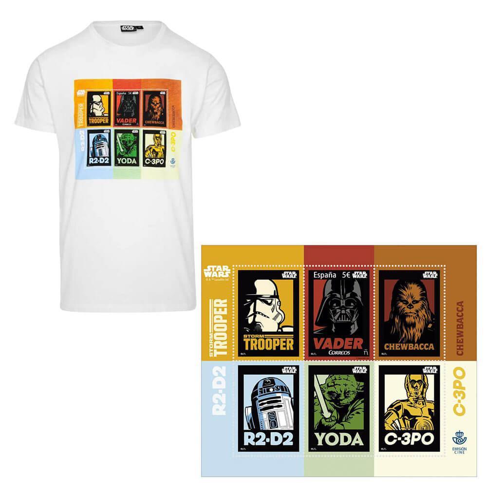 Camiseta Star Wars + Sello