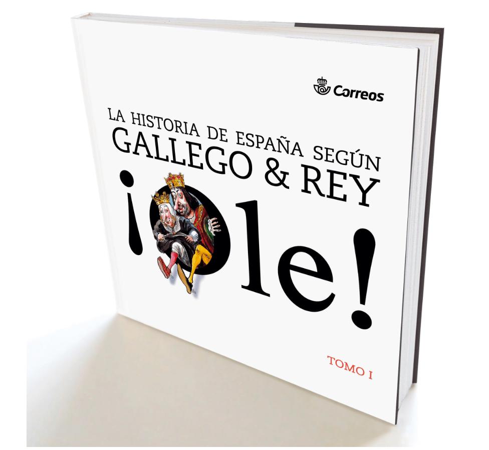 Libro La historia de España según Gallego y Rey