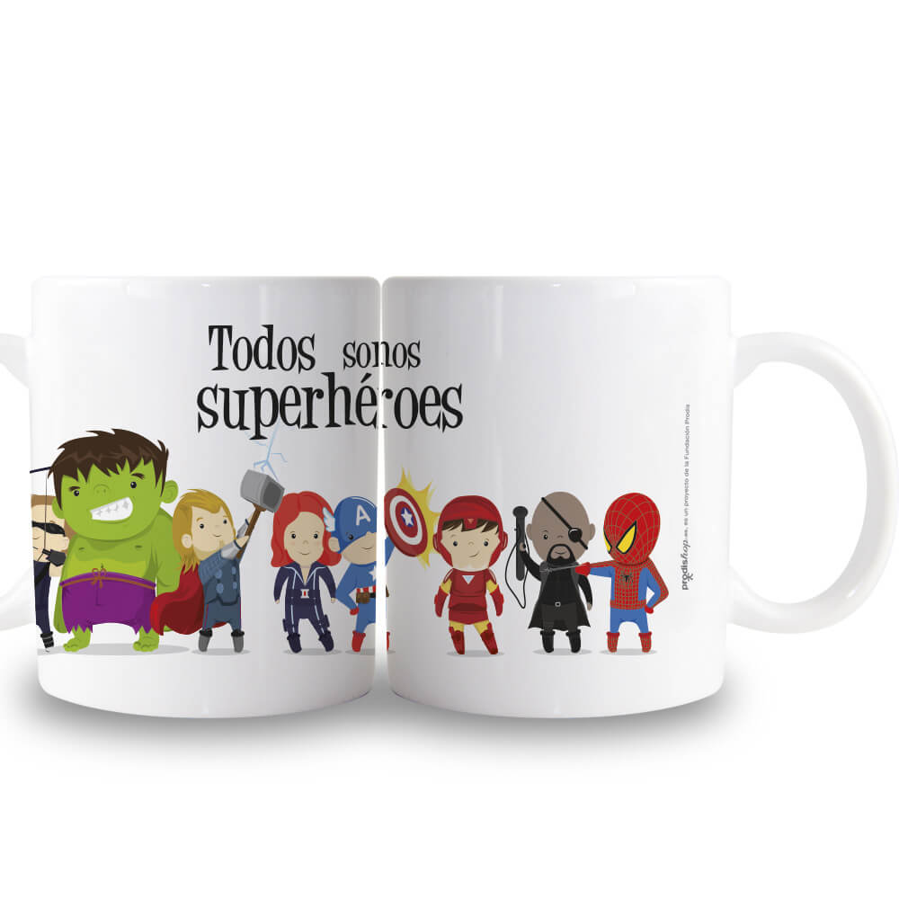 Taza superhéroes Prodis