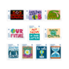 Pack de 10 sellos Protest Stamps