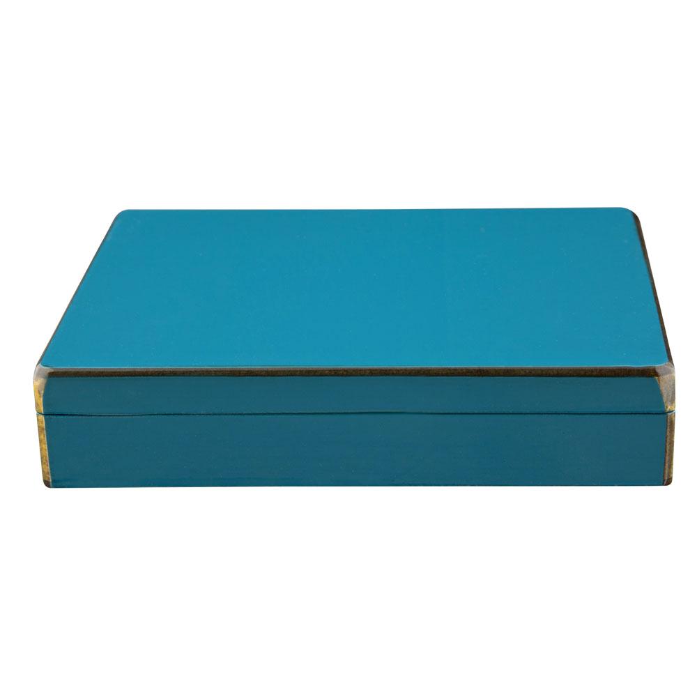 Caja personalizada azul A LA PAR