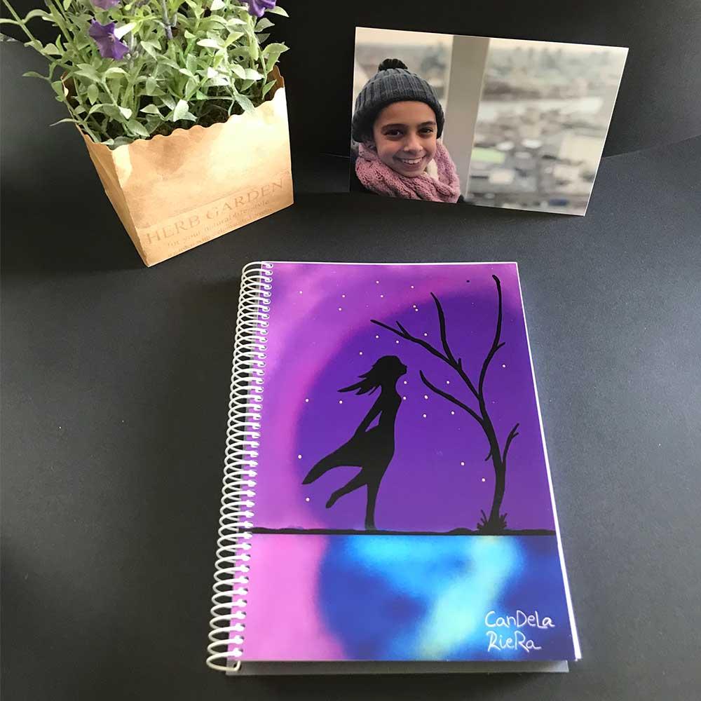 """Cuaderno solidario """"alma"""" Candela Riera"""