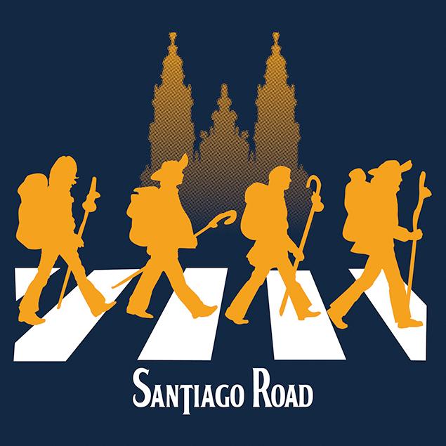 Camiseta Santiago Road del Camino
