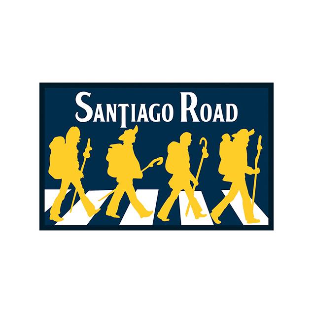 Pack de parches Camino de Santiago