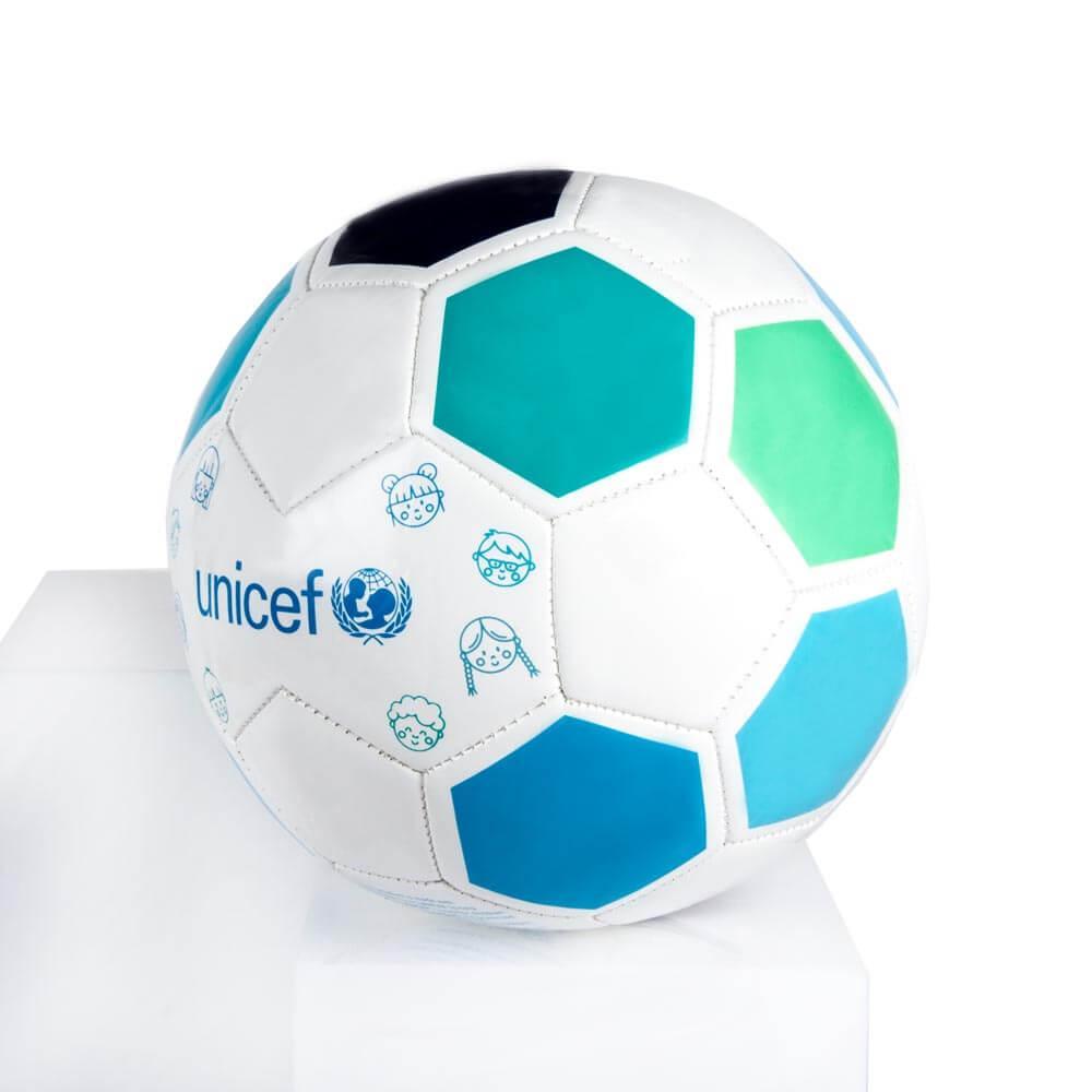 Balón de fútbol UNICEF