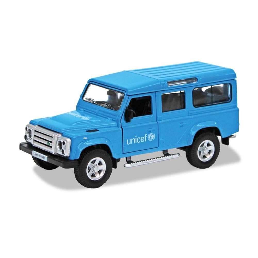 Coche Land Rover Defender ® UNICEF